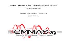 CENTRO MEXICANO PARA LA MÚSICA Y LAS ARTES