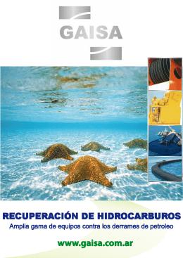 Folleto Recuperación de Hidrocarburos
