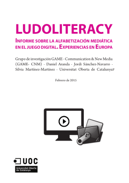 LUDOLITERACY - Europa Creativa Desk