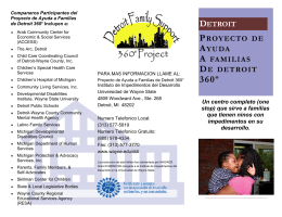 Que es Detroit 360 - Developmental Disabilities Institute