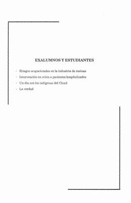EXALUMNOS y ESTUDIANTES