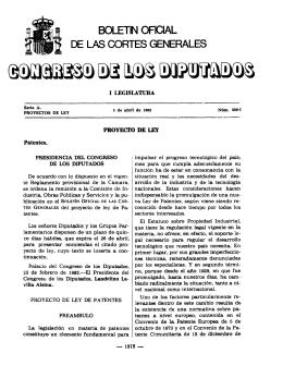 BOLETIN OFICIAL - Congreso de los Diputados