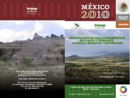 Identificación de Suelos Erosionados en Tlaxco y Terrenate, Tlaxcala