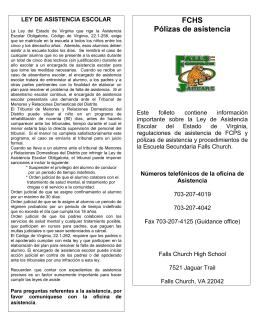 FCHS Pólizas de asistencia