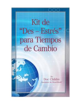 """Kit de """"Des - Estres"""" para Tiempos de Cambio"""
