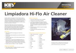 Limpiadora de aire Hi-Flo
