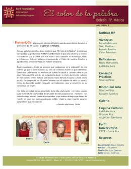 No. 2 - El Programa Internacional de Becas de la Fundación Ford