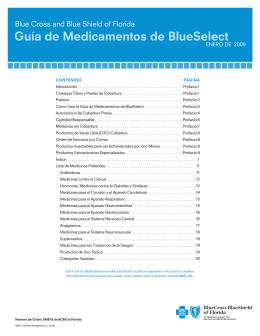 Guía de Medicamentos de BlueSelect