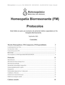 PDF de protocolos, cadenas causales e
