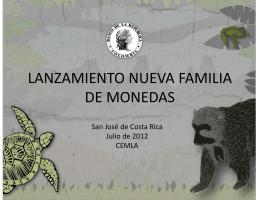 LANZAMIENTO NUEVA FAMILIA DE MONEDAS