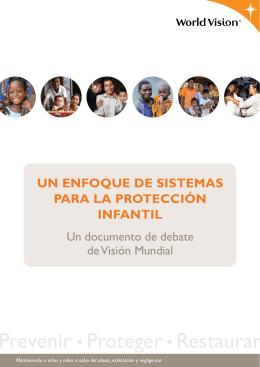 un enfoque de sistemas para la protección infantil