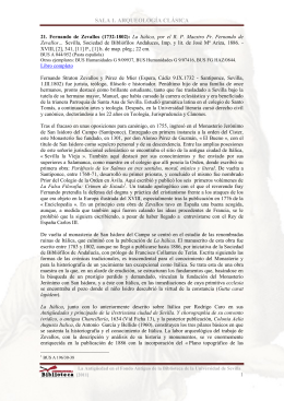 SALA I: ARQUEOLOGÍA CLÁSICA. José Beltrán Fortes