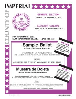 eleccion general
