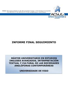 IFS M Estudios Ingleses Avanz