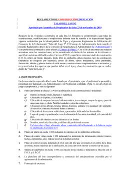 TDL2 - Reglamento de Construcción