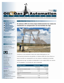 Oil and Gas Automation Solutions Ejemplar No. 27