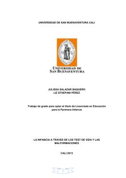 UNIVERSIDAD DE SAN BUENAVENTURA CALI JULISSA