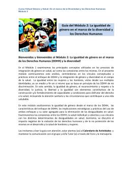 Guía del Módulo 2 - Aula Virtual Regional. Campus Virtual de Salud