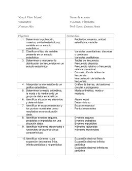 Karen Campos Araya Objetivos Contenidos