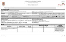 gobierno del estado de campeche datos generales metas