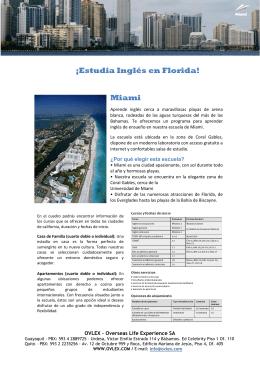 ¡Estudia Inglés en Florida! Miami