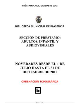 préstamo julio-diciembre 2012