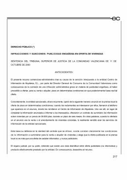 DERECHO PÚBLICO (*) INFRACCIONES Y SANCIONES