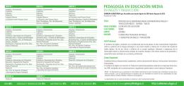 pedagogía en educación media - Admisión Ulagos