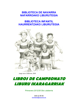 libros de campeonato liburu ikaragarriak