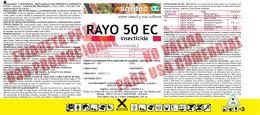 RAYO 50 EC insecticida
