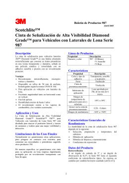 Scotchlite™ Cinta de Señalización de Alta Visibilidad Diamond