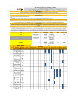 Programas riesgo biologico - Universidad Pedagógica y