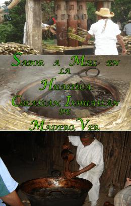 SABOR A MIEL EN LA HUASTECA: COLATLÀN, IXHUATLÀN DE
