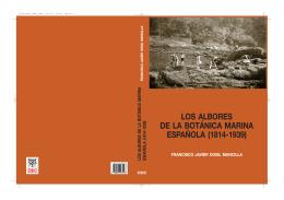 Los albores de la Botánica Marina española - JAE