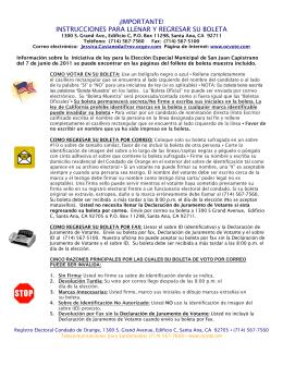 instrucciones para militares y ciudadanos civiles que viven en el
