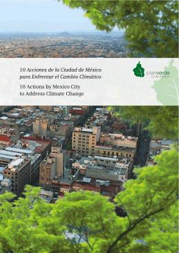 10 Acciones de la Ciudad de México para Enfrentar el Cambio