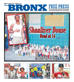 Dead at 14 p11 - The Bronx Free Press