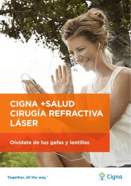 CIGNA +SALUD CIRUGÍA REFRACTIVA LÁSER
