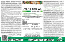 EVENT 840 WG