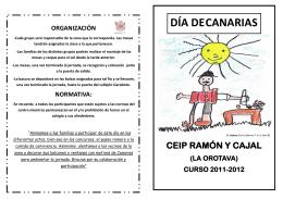 folleto canarias 2012 - Gobierno de Canarias