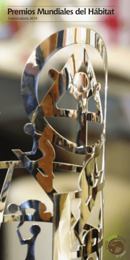 Premios Mundiales del Hábitat