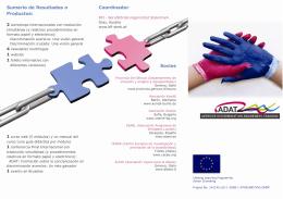 Sumario de Resultados o Productos: Coordinador Socios