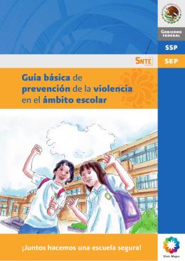 Guía básica de prevención de la violencia en el ámbito escolar