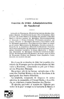 Historia Nicaragua José Dolores Gámez Parte3 cap.15y6