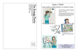 Agua y Salud - Office of Research and Sponsored Projects