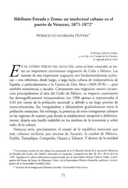 Ildefonso Estrada y Zenea: un intelectual cubano en el puerto de
