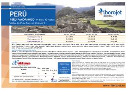 02LT1 Perú Panorámico Actual.Enero-ABRIL