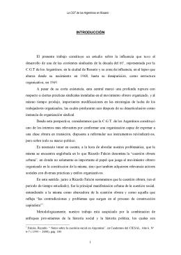La CGT de los Argentinos en Rosario