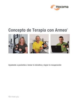 Concepto de Terapia con Armeo® - Arraya Equipamiento Médico es
