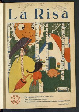 La Risa: semanario humoristico del 22 de julio de 1923, nº36